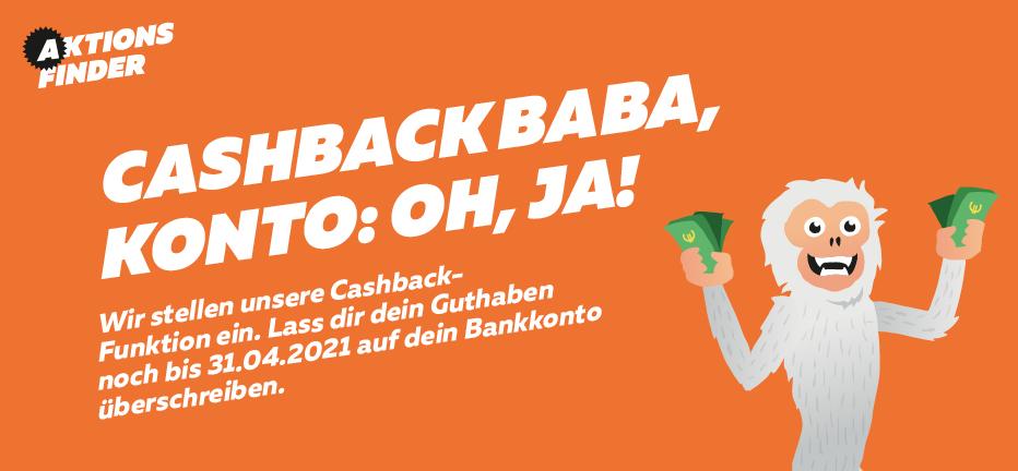 Aktionsfinder Cashback