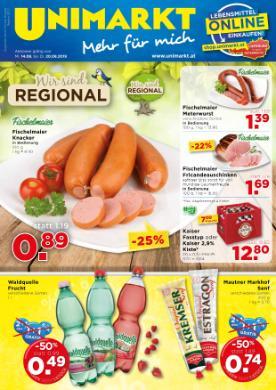 Unimarkt Oberösterreich - Mühlviertel - Zentralraum