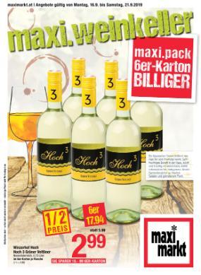 Maximarkt Weinkeller Woche
