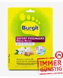 Burgit Sofort Fußmaske Einweg-Socken