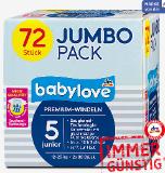 babylove Premium-Windeln Jumbo Pack Gr. 3 – 5