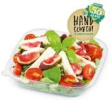 Blattsalat mit Feta und Feigen
