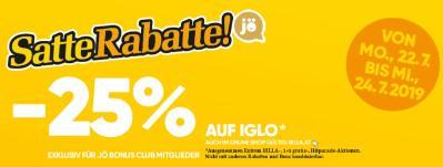 -25% auf Iglo