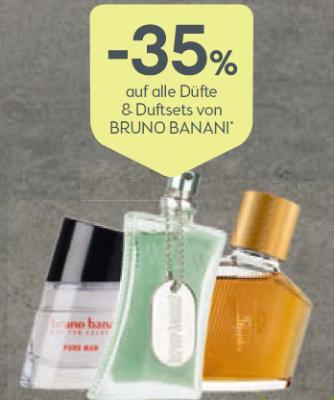 -35% auf alle Düfte & Duftsets von Bruno Banani