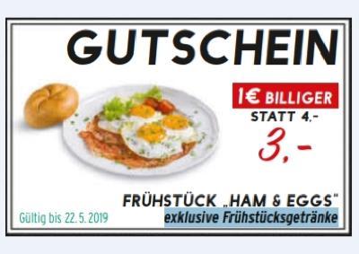 "Frühstück ""HAM & EGGS"""