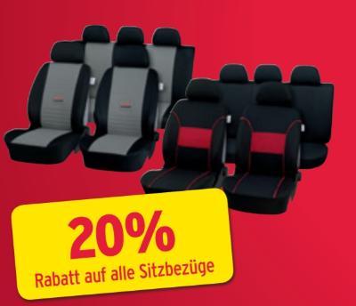 - 20% auf alle Sitzbezüge