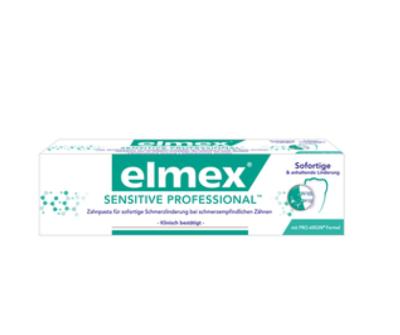 -25% auf alle Zahnpflege-Produkte von Elmex Professional